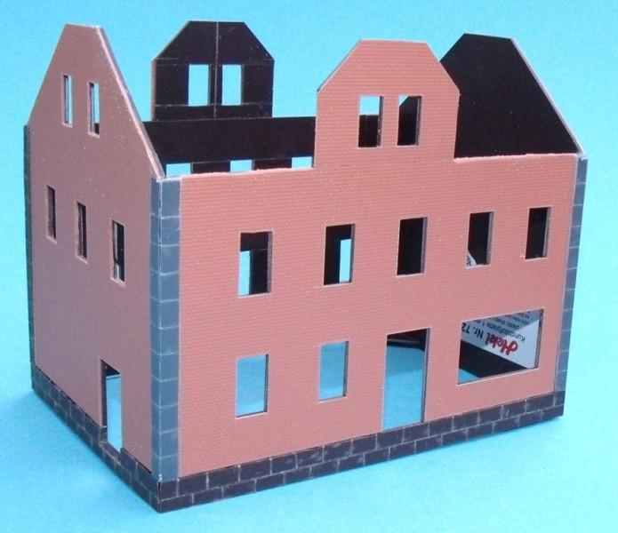 Anleitung Gebäude selbst bauen - Stummis Modellbahnforum