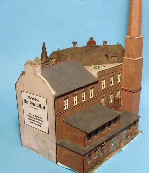 Hinterhof Diorama Stummis Modellbahnforum