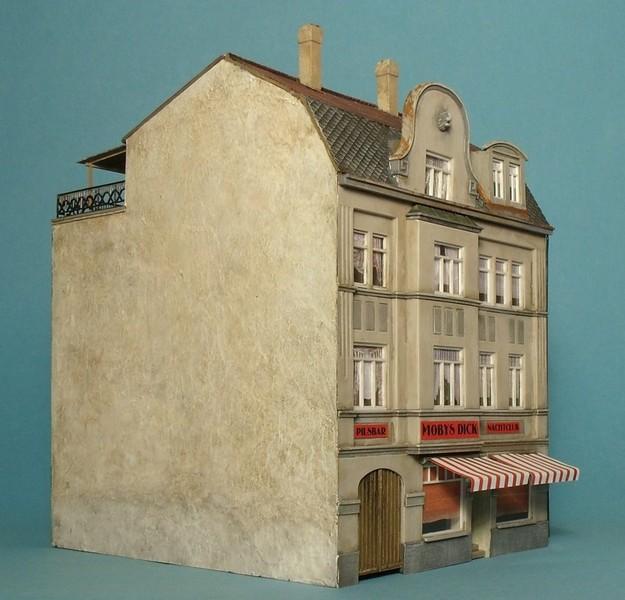 Hinterhof Diorama Seite 2 Stummis Modellbahnforum